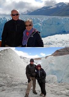 Bernard Compagnet et Annie Armandias en Argentine