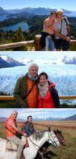 Cécile Agullo et Fabrice Michaudeau en Patagonie