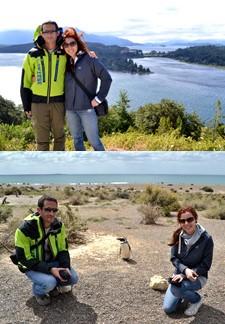 Sabrina Marchetto et Jérôme Delas en Patagonie Argentine Chili