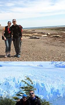Céline Guérin et Olivier Troccaz en Patagonie argentine et chilienne