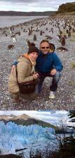 Agnès Chapuzet et Sébastien Oligner en Patagonie Chili Argentine