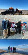 Annick et Gilles Nakache, Béatrice Escourbiac et Jean-Claude Onno au Pérou, en Bolivie et au Chili
