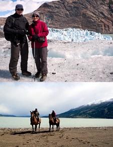 Dominique Noël en Patagonie argentine et chilienne