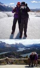 Rosine Boudon et Anick Potier en Patagonie