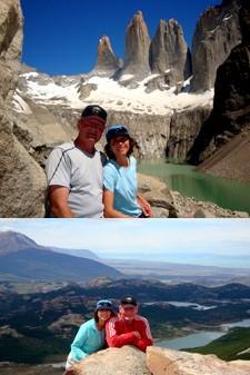 Michèle et Olivier Pauchard en Patagonie argentine et chilienne