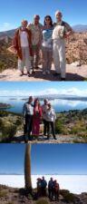 Liliane et Jean-Claude David, Claude et Daniel Le Breton en Argentine, Bolivie et au Pérou