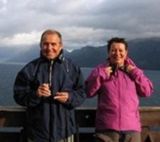 Anne-Marie et Michel Miqueu en Argentine et au Chili