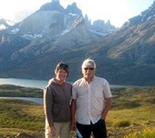 Joël et Colette Roue en Argentine et au Chili