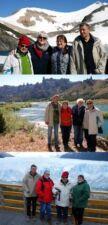 Odile Croizier, Pascal Bourrin, Hélène et Guy Rousseau en Argentine