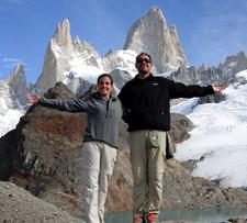 Maurice et Aline Saad en Argentine