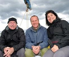 Donatella Muccigrosso et Jean Claude Flaig en Argentine