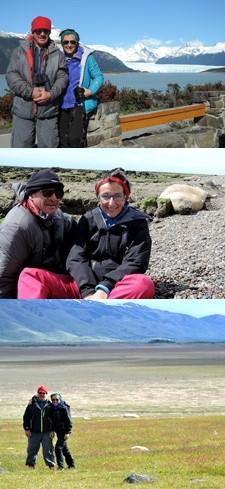 Andrée et Jeannot Véronèse en Argentine du Nord au Sud