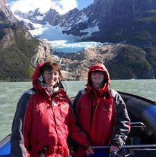 Marie-Claude Sicard et Annie Perdreau-Cousin en Argentine