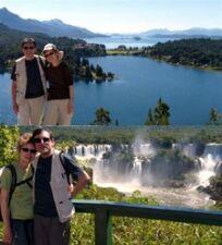 Elizabeth et Jean-Luc Prats en Argentine