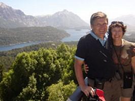 Claudine Strappazzon et François Dutour en Argentine