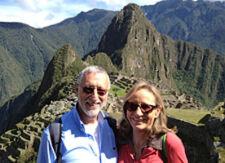 Nadine Golan et Michel Neufeld au Pérou