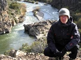 Stéphane Allegret en Patagonie argentine et chilienne