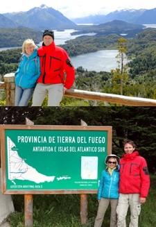 Geneviève Carut et José-Vincent Richard en Patagonie argentine et chilienne