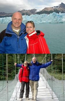 Louise Deldicque et Marc Francaux en Patagonie argentine et chilienne