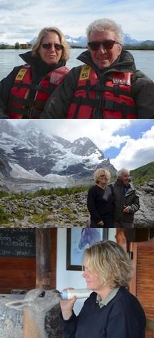 Jean-Pierre Vanvincq et Nathalie Jacquet en Patagonie argentine et chilienne