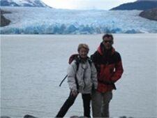 Christiane et François en Patagonie Argentine