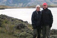 François et Marie-Françoise Raynaud en Patagonie argentine