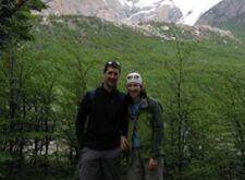 Justine Bedart et Fabien Prat en Patagonie Argentine