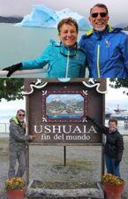 Marylis et Christian Bilardu en Patagonie argentine juqu'à Ushuaia