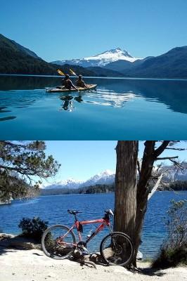 Kayak et VTT en Patagonie argentine