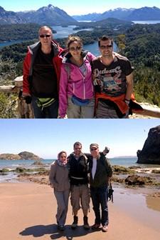 Patrice et Fabrice Essner, Armanda Ferreira De Azevedo en Patagonie