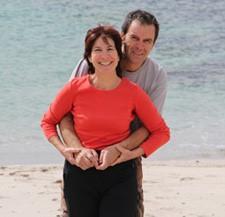 Annick Collado et Marc Laget en Patagonie