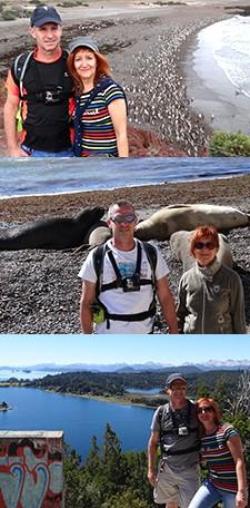 Valérie et Luc Riera en Patagonie et au Cap Horn