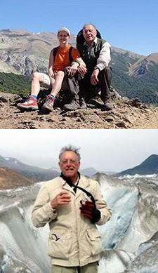 Dominique Fleury et Jean-Louis Bacri en Patagonie