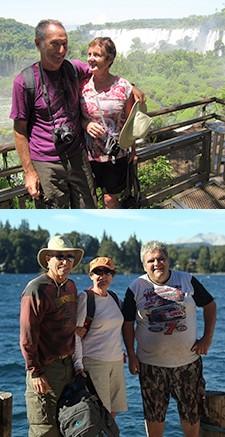 Annie et Christian Demercastel en Patagonie et à Iguazu