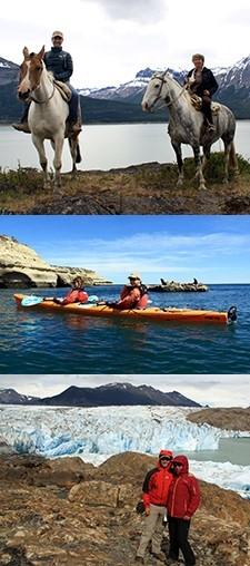 Dominique Niemegeerts et Édouard De Becker Rémy en Patagonie et à Iguazu