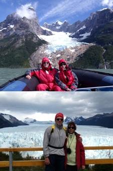 Pierre Jobert et Muriel Rey en Patagonie