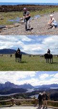 Iolanda Lanno et Christian Nicol en Patagonie