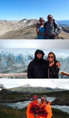 Monique et Alain Maurel en Patagonie