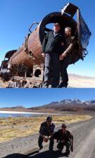Jean et Berthe Fournier au Pérou, Chili et en Bolivie