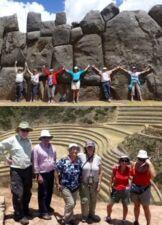 Groupe de Marie-Paule Desenfans au Pérou