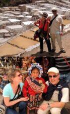 Marie-Gabrielle et Édouard Hernandez au Pérou