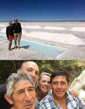 Sylvie et Claude Charpin au Nord Argentine