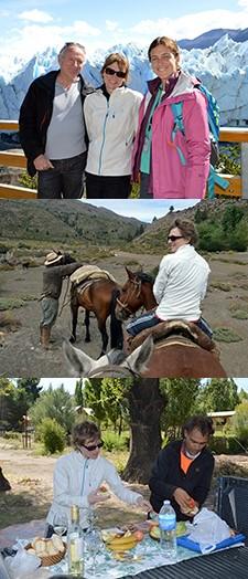 Valérie et Yves Dubillard en Patagonie Argentine et Chili