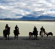 Alexandra Pareau, Nathalie Terrasse et Vanessa Teboul à Ushuaïa