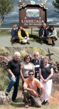 Liliane et Michel Baumer, Françoise et Gérard Sanlis en Argentine