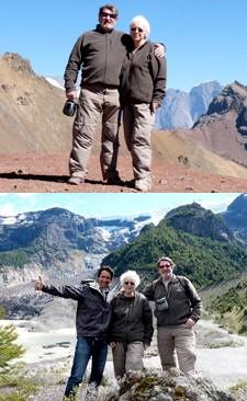 Rolande et Yves Bocquet en Argentine
