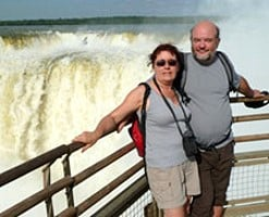 Annie et Christian Fabris en Argentine, Bolivie et au Chili