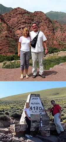 Martine et Daniel Mermier en Argentine, Bolivie et au Chili