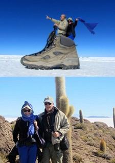 Jacqueline et Jean Paul Ducatteau en Argentine et Bolivie