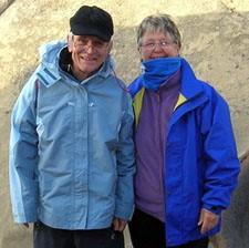 Danielle et Claude Chevalier en Argentine